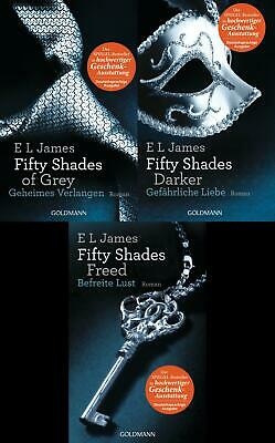 Fifty Shades Of Grey - alle 3 Bücher hier im Set!