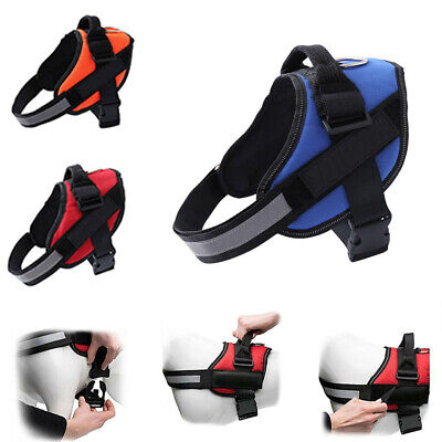 No-pull Dog Harness Outdoor Adventure Pet Vest Padded Handle-Small/Medium/Largeg