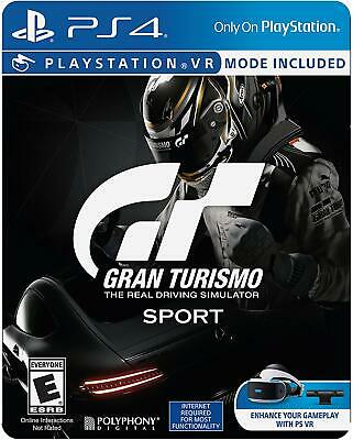 Gran Turismo GT Sport Limited Edition PS4 Game (PSVR Compatible) (#)