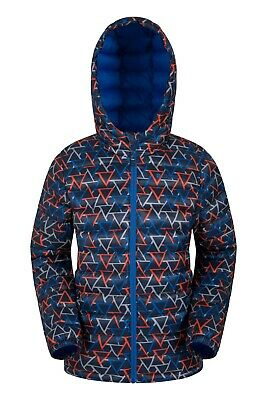 Mountain Warehouse Water Resistant Padded Jacket Blue 11-12 Years TD096 CC 16
