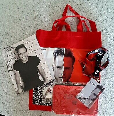 Olly Murs Vip Tour Gift Set ( You Know I Know tour )