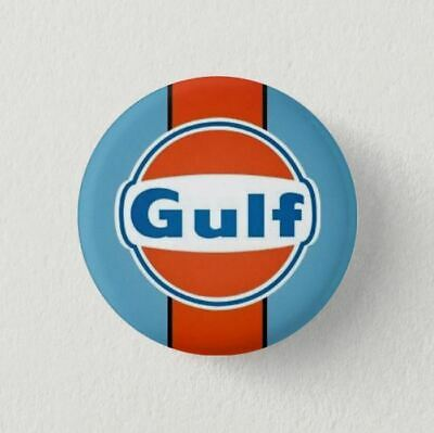Chapa Pin Badge Button GULF