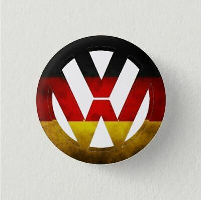 Chapa Pin Badge Button VW LOGO