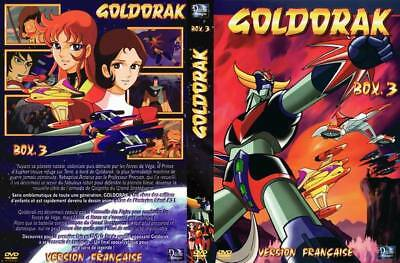 GOLDORAK BOX 3 VERSION FRANCAISE 5DVD NEUF grendizer Episodes 53 a 74