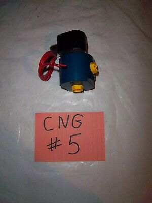 Tulsa Gas Technologies CNG Natural Gas Solenoid Valve 3000 PSI 2-Ports Female