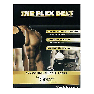 The Flex Belt Ultimate 150 Intensity Level Abdominal & Core Muscle Toning Belt