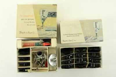 Vintage Sewing SINGER Deluxe Zig Zag Model 625 Touch & Sew Fashion Discs 161852