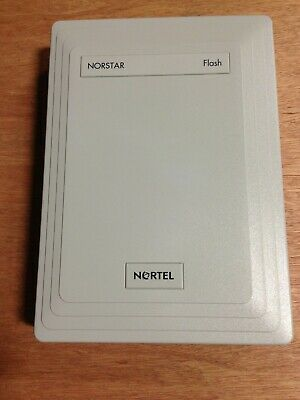 Nortel Norstar Flash Voice Mail Unit NO Power Supply with Software Card