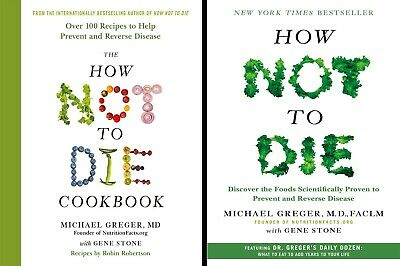 All 2 How Not To Die by Michael Greger & Gene Stone PDF EPUB MOBI Fast Delivery