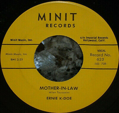 ERNIE K DOE Mother in Law LP Minit album - $39 00 | PicClick