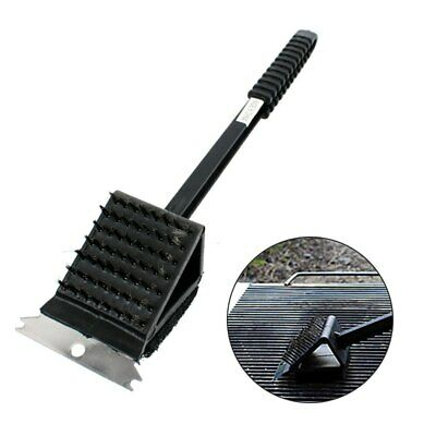 3 in 1 Copper Wire BBQ Grill Brush Long Handle Cleaning Brush BBQ Cleaner