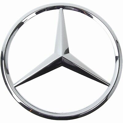 NEW GENUINE MERCEDES W129 SL320 R129 FRONT GRILLE CENTER STAR EMBLEM A1298880286
