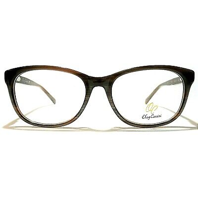 512a1772072a New Oleg Cassini Optical Eyeglasses Frame For Women OCO355 215 Brown  53-17-135