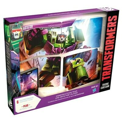 Transformers Trading Card Game TCG Rise of the Combiners Devastator Deck