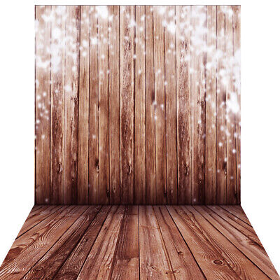 Andoer 1.5*2m Big Photography Background Backdrop Classic Fashion Wood Q0S4