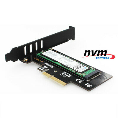 JEYI SK4 M.2 NVMe SSD NGFF TO PCIE X4 Adapter M Key Interface Card