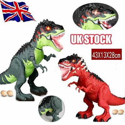 Walking Dragon Toy Fire Breathing Water Spray Dinosaur Christmas Kid Gift Toy B$