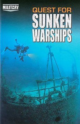Military Channel - Quest For Sunken Warships sealed dvd