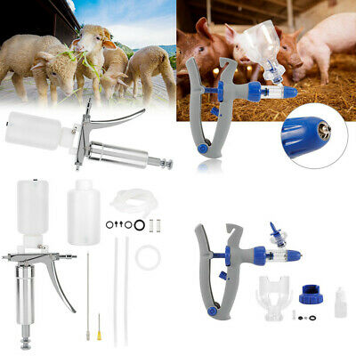 2ml Auto Continuous Drench Syringe Farm Animal Supplies For Livestock Injector