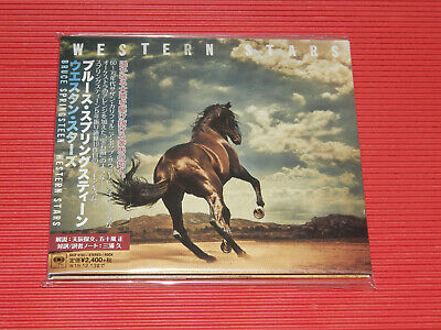 2019 BRUCE SPRINGSTEEN Western Stars JAPAN DIGI SLEEVE CD