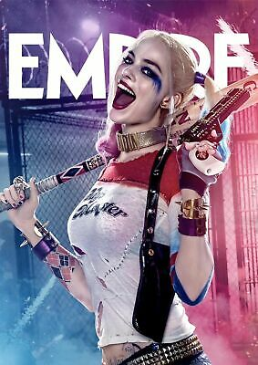 SUICIDE SQUAD MOVIE HARLEY QUINN Art Silk Poster 12x18 24x36