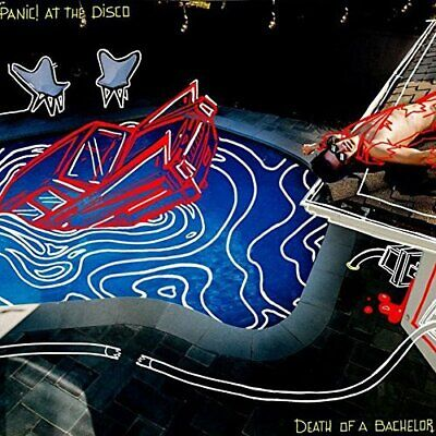 Panic! At The Disco-Death Of A Bachelor Cd New