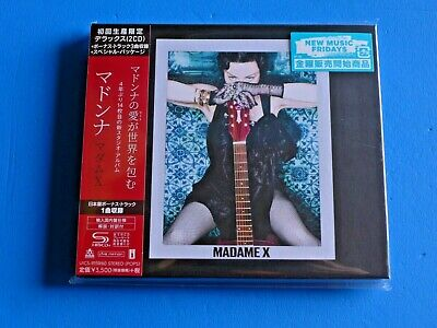 2019 HARDCOVER BOOKLET SLEEVE JAPAN ONLY 2 SHM CD MADONNA MADAME X w/BONUS TRACK