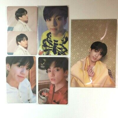 Map of The Soul BTS Persona Official Photocard Postcard Set - JungKook