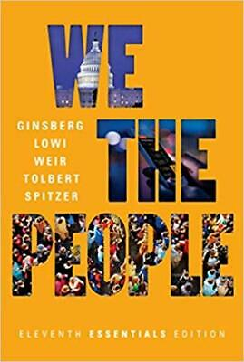 [PDF] We the People 11th Edition 2017 Ginsberg Lowi Weir Tolbert