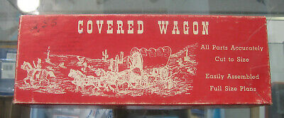 AUSTINcraft Covered Wagon Wooden Model Kit