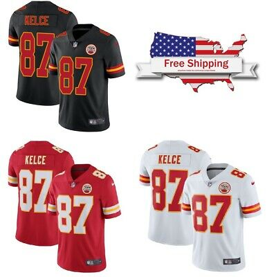 Hot TRAVIS KELCE CUSTOM Sewn Chiefs Red Jersey Size XL $29.99 | PicClick