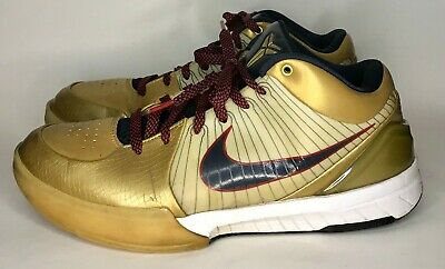 reputable site a839a 4e6b3 NIKE ZOOM KOBE IV 4 - Gold Medal / Olympic Size 9.5 - $49.99   PicClick