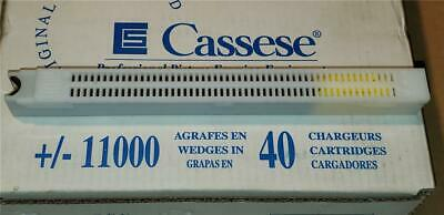 Cassese Genuine 40 Cartridge Wedges 11,000 Vnails for Cassese Underpinner