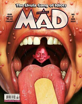 MAD MAGAZINE #8 AUGUST 2019 GAME OF THRONES SPIN-OFF Captain Marvel Silly Wonka