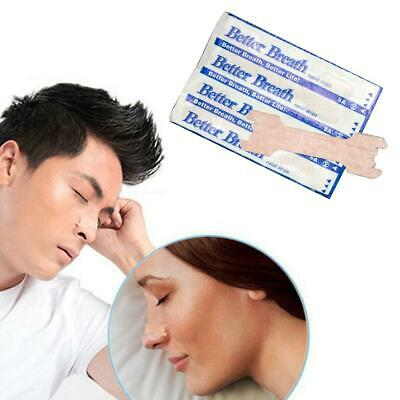 100/Bag 6.6*1.9CM Ventilated Nose Strip For Relieving Snoring Breathing Nasal
