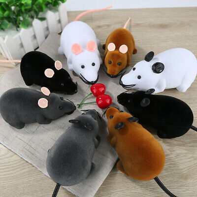 Funny Remote Control RC Rat Mouse Wireless For Cat Dog Pet Toy Novelty Gift FUN