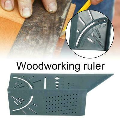 3D Portable Square Mitre Angle Size Measure Tool Gauge Ruler For Woodworking Hot