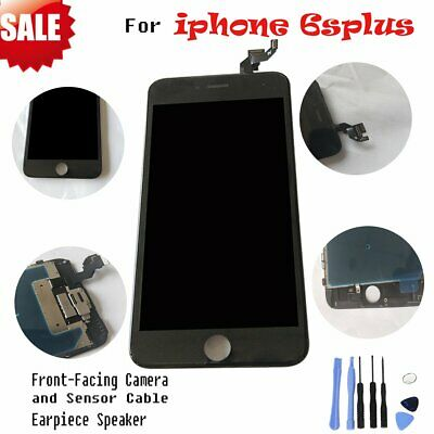 "Assembly Display For LCD Replacement 5.5"" Digitizer Black Screen iPhone 6S Plus"