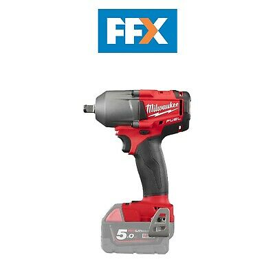 Milwaukee M18ONEFHIWF12-0 18v 1//2in Fuel ONE-Key Impact Wrench Friction Ring 5Ah