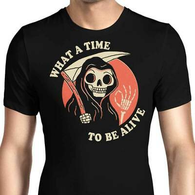 What A Time To Be Alive Drake Future God Of Death Funny Black T-Shirt S-6XL
