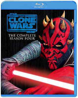 TV Series-Star Wars The Clone Wars 4 Saison Complet Set-Japan 3 Blu-Ray L45 SD