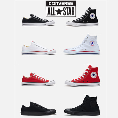 Herren Damen Converse Chucks Taylor Schuhe All Star Sneaker Low / High Top Shoes