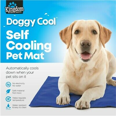 Non Toxic Pet Dog Cat Self Cooling Gel Mat Bed Summer Heat Relief Pad Cushion