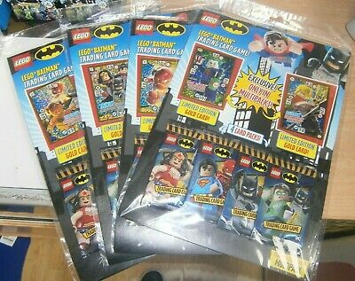 Lego Batman Trading Cards Game MultiPack Inc 4 Card packs & 2 Limited Editions