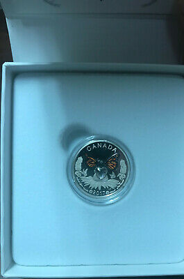 2017 Canada $3 Silver Proof Celebration of Love with Swarovski Heart Ltd mintage