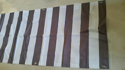 size 40 d8aca 4361d IKEA DYNING BALCONY COVER AWNING FROM SUN WIND SHIELD CANOPY SHADE GREY  Striped
