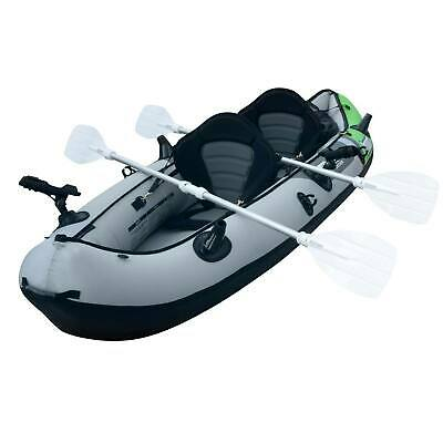 SEA EAGLE INFLATABLE Kayak and Paddles with NRS Boating Life