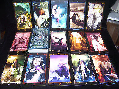 Sealed & Brand New! Dark Fairytale Tarot Card Oracle Enchanting & Irresistible