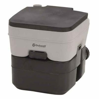 Outwell Portable Toilet 20l Negro|Gris T15160/ Equipamiento camping Unisex