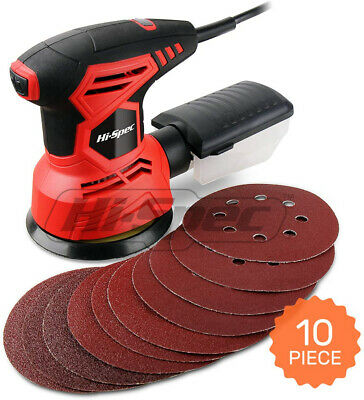 Orbital Disc Palm Sander Car Body Work Paint Removal Panel Preparation Wood Work